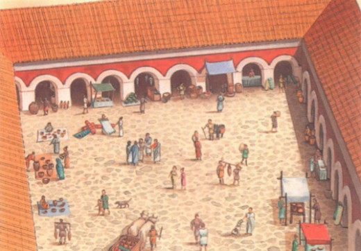 рынок Древнего Рима