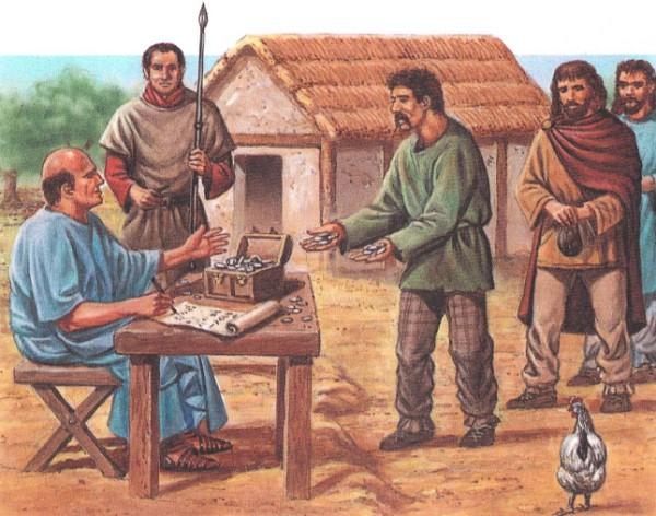 Налоги в Древнем Риме