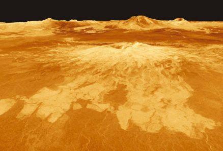 ЦКратеры поверхности Венеры
