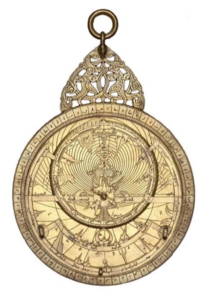 Персидская астролябия. 1221 г.