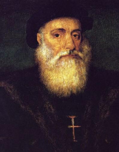 Васко да Гама. Португальская школа. 1524 г.