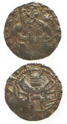 Монета Фридриха Барбароссы