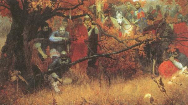 М. Шаньков. Засадный полк