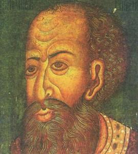 Иван IV Грозный. Средневековый портрет (парсуна). XVII в.