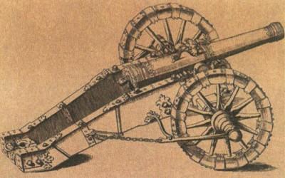 Полевая пушка времён Тридцатилетней воины