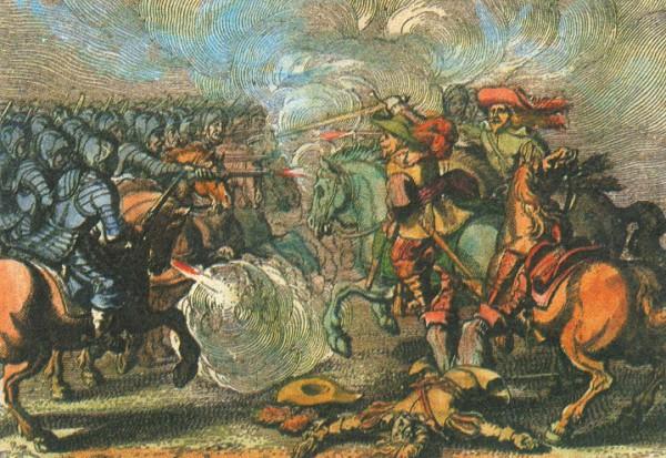 Гибель Густава Адольфа в битве при Аютцене