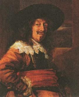 Ф. Хальс. Портрет офицера. 1645 г.
