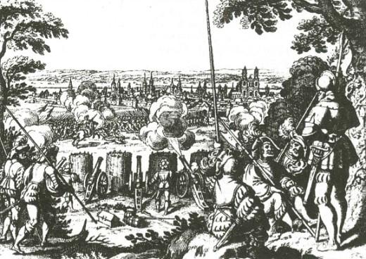 Осада Магдебурга. 1619 г.