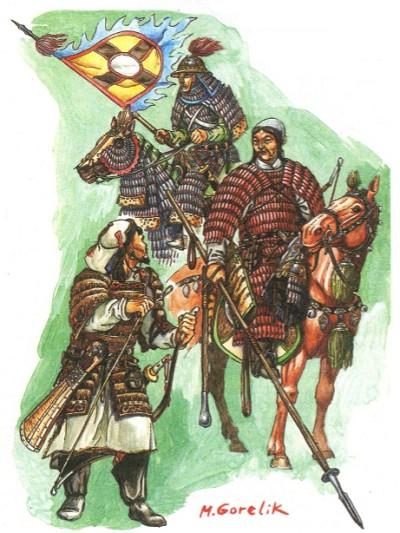 Воины Чингисхана. Реконструкция М. В. Горелика