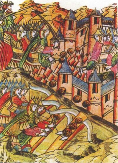 Осада Козельска в 1238 г.