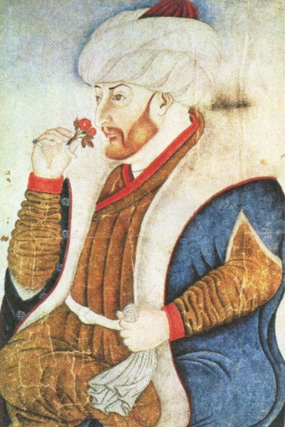 Мехмед II Фатих (Завоеватель). Турецкая миниатюра. XV в.