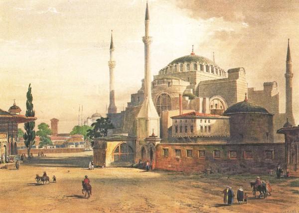 Стамбул. Литография XIX в.