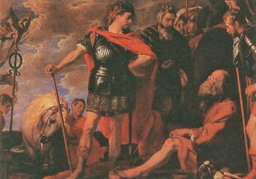 Гаспар де Крейер. Александр и Диоген