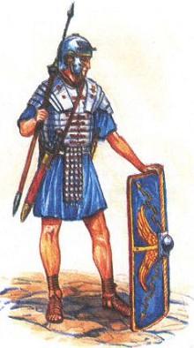 Легионер. Около 200 г.