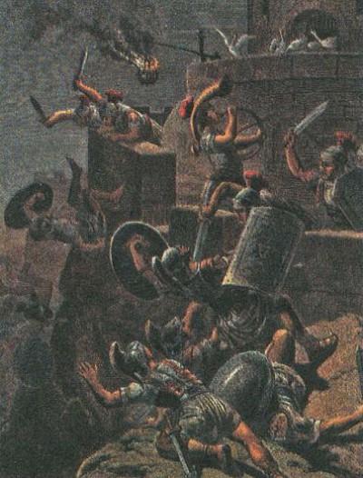 осады галлами римской цитадели