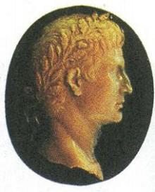 Император Август. Римская камея