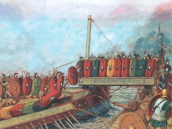 Морское сражение в Первую Пуническую войну