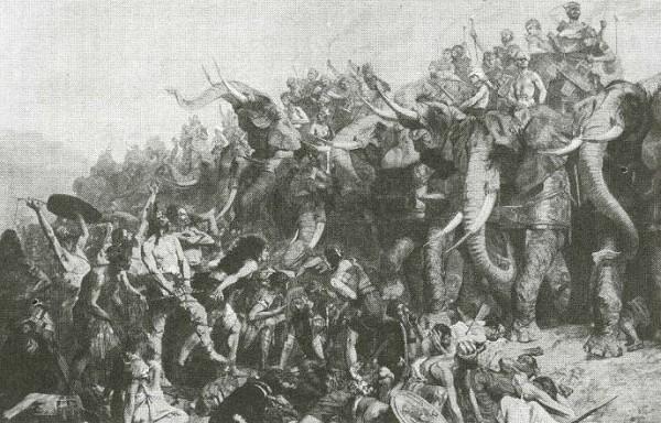Сражение Гамилькара с римлянами
