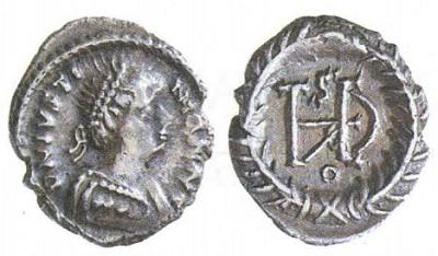 Монета королевы Амаласунты