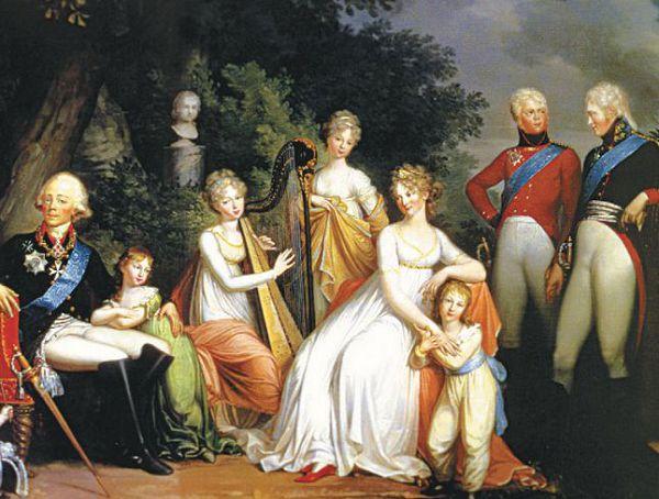 Павел с семейством