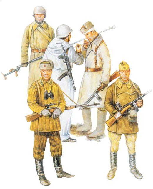 Воины Красной Армии