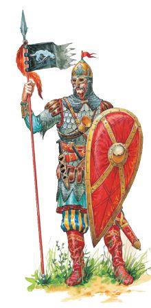 Славянский пеший воин