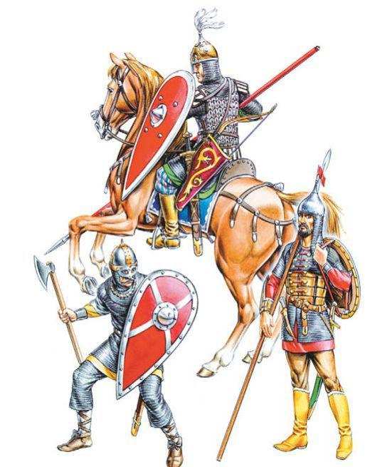 Русские ратники X—XIII ее.