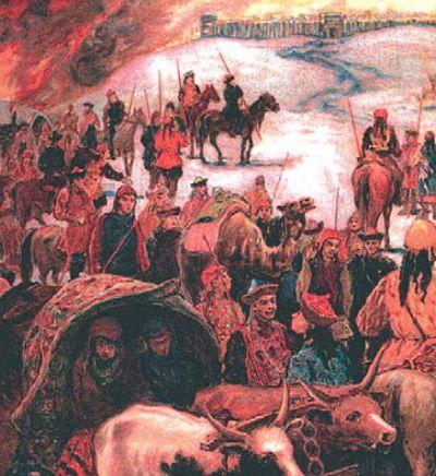 Разорение монголами Владимира