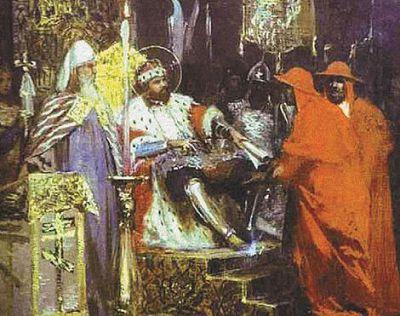 Прием Александром папских легатов