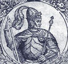 Витовт, великий князь Литовский. Гравюра XVI в.