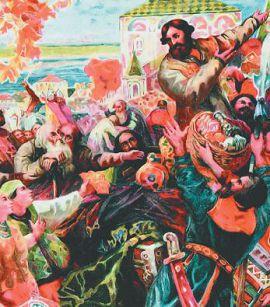 Обращение Минина к народу в Нижнем Новгороде