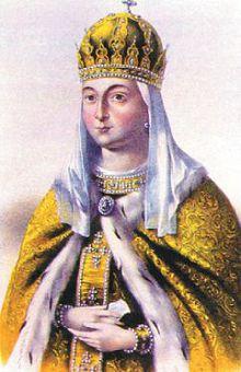 Царица Евдокия Лукьяновна Стрешнева