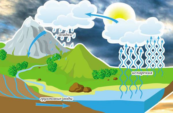Круговорот воды в природе