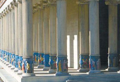 Копия храма Артемиды Эфесской
