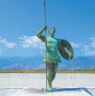 Статуя Александра Македонского