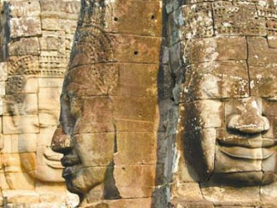 Стены храма Байон