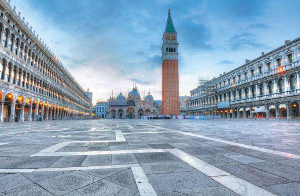 Площадь Святого Марко — исторический центр Венеции