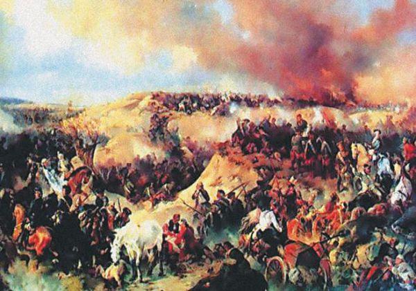 >Сражение при Кунерсдорфе