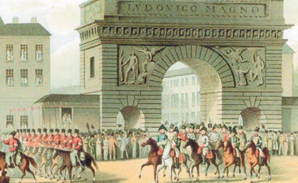 Торжественный въезд Александра I в Париж