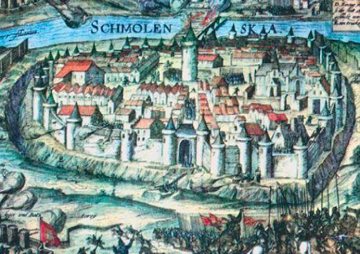 Войска Речи Посполитпой осаждали город более полутора лет