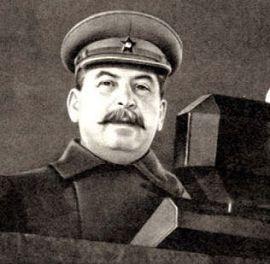 Сталин на параде 7 ноября 1941 г.