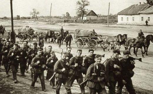 Немецкие войска на Украине