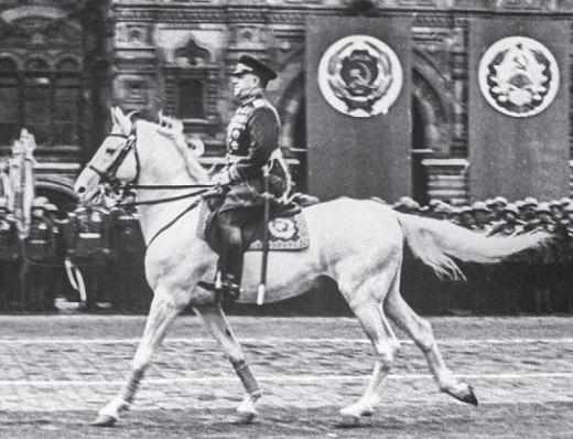 Жуков на Параде Победы