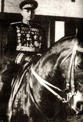 Маршал Рокоссовский на Параде Победы