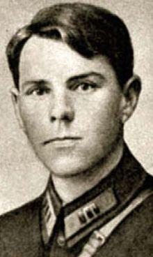 Помощник командира полка Василевский. 1928 г