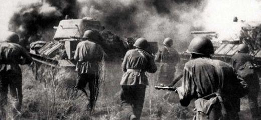 Советские войска в Курской битве