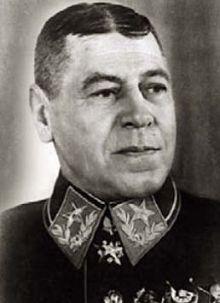 Маршал Шапошников. 1940 г.
