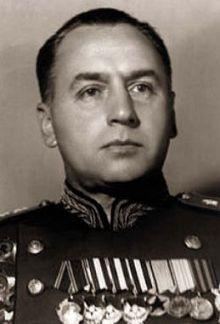 Генерал армии Антонов. 1945 г.