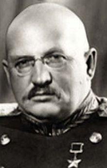 Генерал армии Петров. 1945 г.