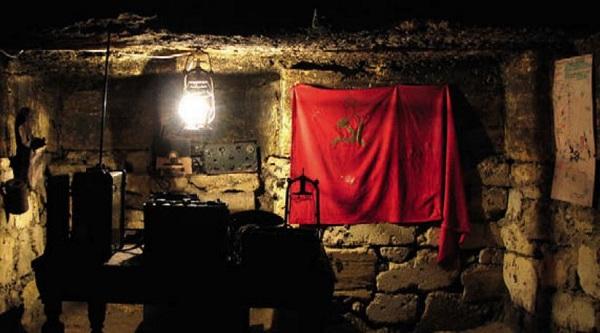 артизанский штаб в одесских катакомбах